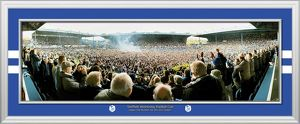 League 1 Promotion Framed Panoramic Photograph
