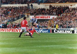 Sheffield Wednesday John Sheridan 1991 League Cup Final