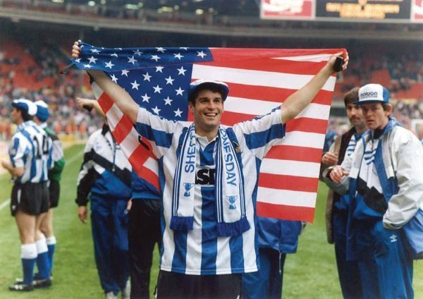 Sheffield Wednesday 1991 League Cup Winners John Harkes