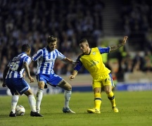 Brighton v Sheffield Wednesday....Owls Ross Barkley on his debut