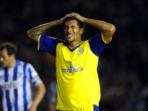 Brighton v Sheffield Wednesday....Dejection for Owls Jay Bothroyd
