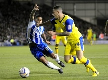 Brighton v Sheffield Wednesday....Owls Ross Barkley on his debut beats Albions Liam
