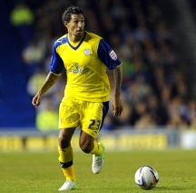 Brighton v Sheffield Wednesday.....Owls Jay Bothroyd on his debut