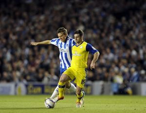 Brighton v Sheffield Wednesday....Rodri with Dean Hammond