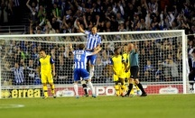 Brighton v Sheffield Wednesday....Joy for Albion dejection for the Owls