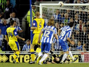 Brighton v Sheffield Wednesday....GOAL...Brightons Will Buckley scores the third goal