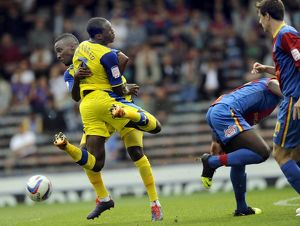 Crystal Palace v Sheffield Wednesday.....Owls pair of Michail Antonio