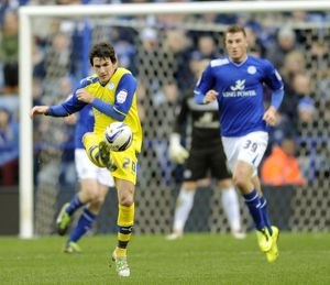 Leicester City v Sheffield Wednesday......Kieran Lee