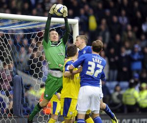 Leicester City v Sheffield Wednesday......Safe Hands Chris Kirkland