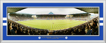 Promotion winning match at Hillsborough Framed Panoramic Photograph