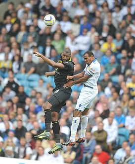 Reda Johnnson jumps with Rodolph Austin