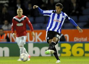 Sheffield Wednesday v Huddersfield....Jay Boothroyd