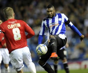 Sheffield Wednesday v Huddersfield....Reda Johnson