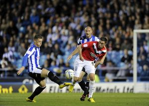 Sheffield Wednesday v Huddersfield....Ross Barclay beats Lee Novak