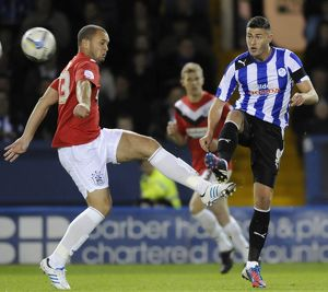 Sheffield Wednesday v Huddersfield....Gary Madine