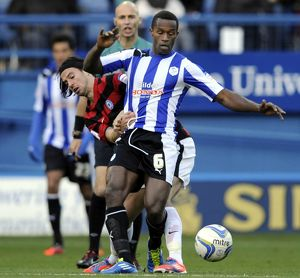 Sheffield Wednesday v Peterborough...Jose semedo with George Boyd