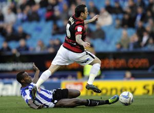 Sheffield Wednesday v Peterborough Utd....Owls Jose semedo at full stretch to stop