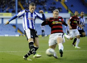 Sheffield Wednesday v Peterborough Utd....GOAL....Owls Ross Barkley smashes in the