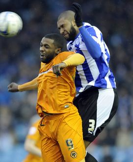 Sheffield Wednesday v Wolves......Reda Johnson beats Sylvan Ebanks-Blake