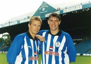 Simon Donnelly and Phil O Donnell Sheffield Wednesday