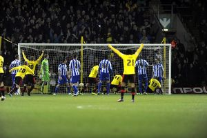 Watford v Sheffield Wednesday.....GOAL...Watford first goal from Fernando Forestieri