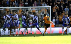 Wolverhampton Wanderers v Sheffield Wednesday....WOLVES GOAL SEQUENCE